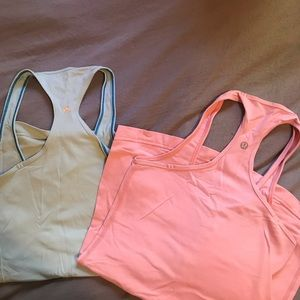 Lulu racer back tanks